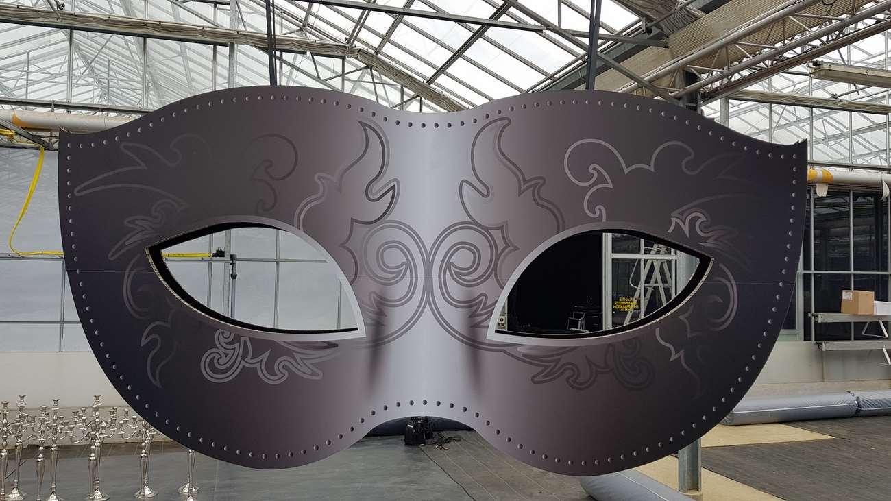 masque vénitien détails 1