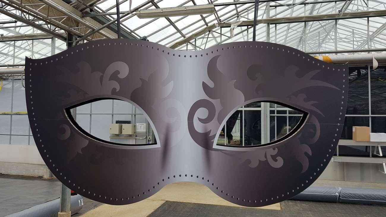 masque vénitien détails 2